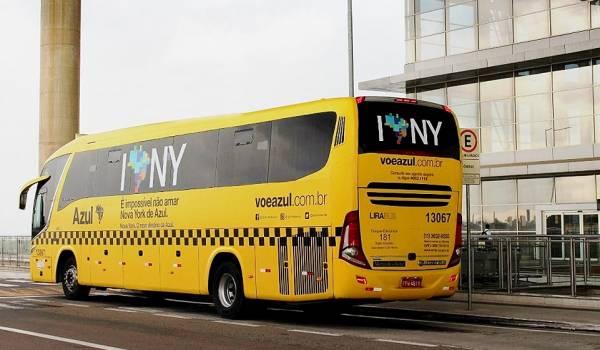 lirabus envelopa onibus para viracopos ao estilo dos taxis de nova york 01