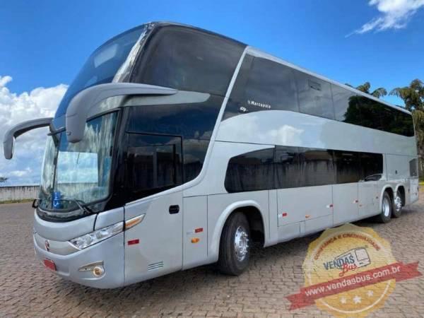 onibus executivo leito dd g7sania k400 seminovo 17