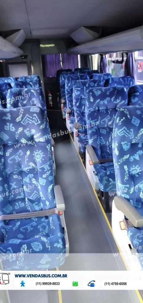 micro marcopolo senior seminovo mercedes lo 916 com wc turismo vendasbus 12