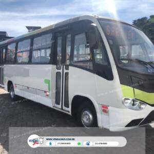 micro onibus marcopolo senior mercedes lo916 unic dono revisados vendasbus 9 1