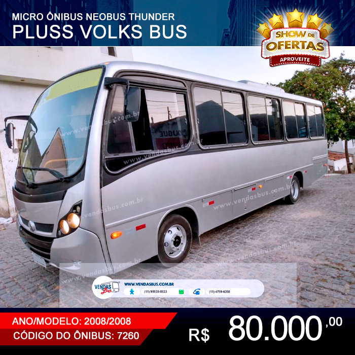micro onibus turismo fretamentos neobus thunder pluss volks bus 9 150 eod mwm x12 2008 2008