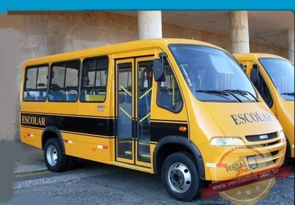 microonibus escolar iveco seminovo unico dono vendasbus 1