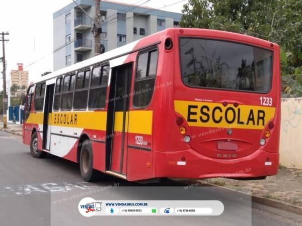 onibus caio apche vip escolar volksbus 16210 revisado conservado vendasbus 11