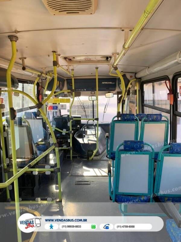 onibus caio apche vip escolar volksbus 16210 revisado conservado vendasbus 6