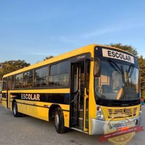 onibus escolar mercedes of 1418 impecável pronto para uso vendasbus 1