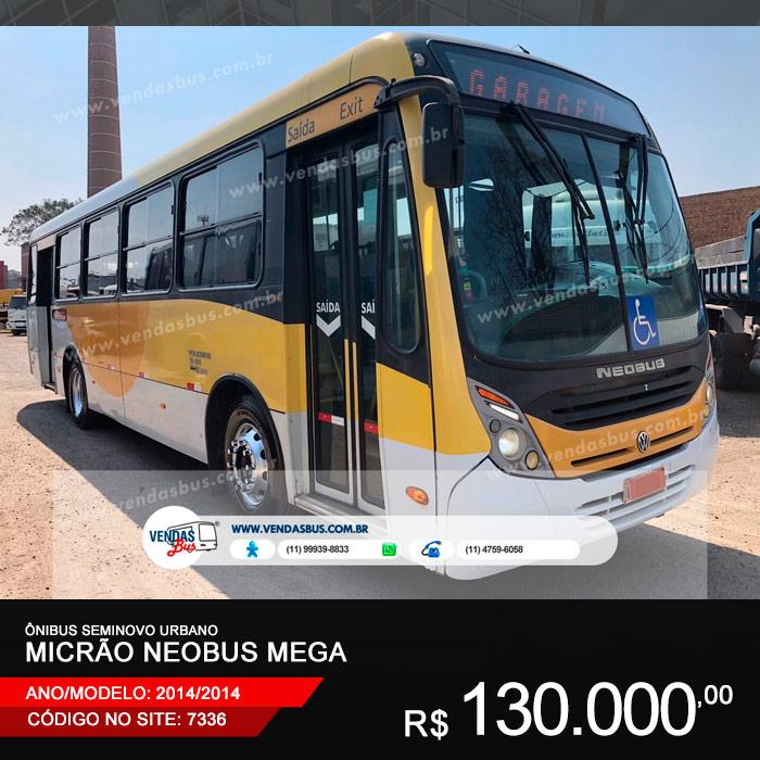 onibus micrao neobus mega seminovo urbano escolar revisado volks bus 15 190 2014 2014 01