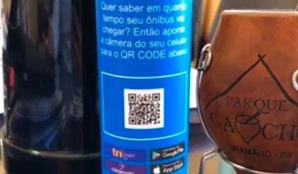 porto alegre anuncia qr code em paradas de onibus